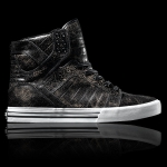 Supra Skytop Kracked Black