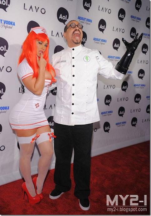 nurse appreciation ? Nicole Coco austin Sexy Nurse uniform red hair ...