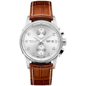 Hamilton Jazzmaster Maestro Silver Dial Brown Leather Mens Watch H32576555